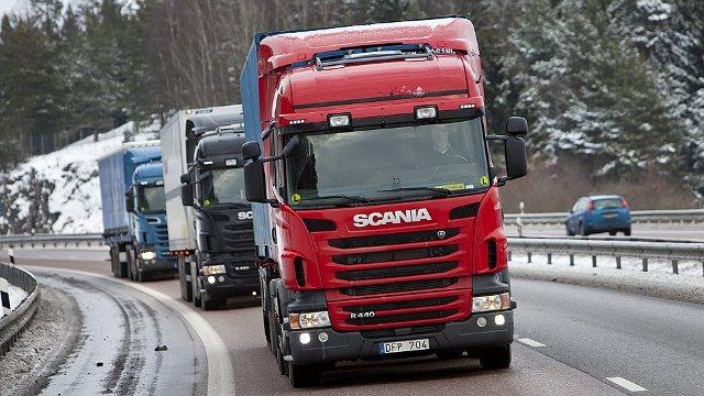 Грузоперевозки на машинах Scania - transportica.com