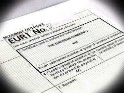 Европейский сертификат не относится к обязательным документам