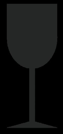 Изображение стеклянного бокала говорит о хрупкости груза