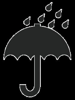 Понятное изображение зонтика символизирует водобоязнь груза.