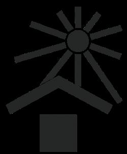 Пиктограмма для защиты груза от солнца