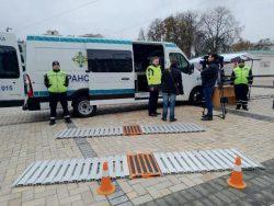 Первые передвижные лаборатории закуплены украинским правительством в 2016 году