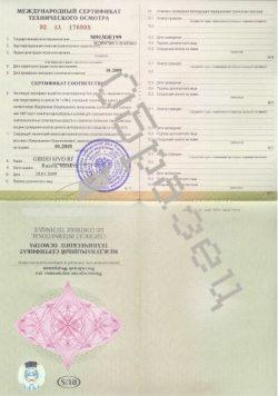 Международные сертификаты каждая страна выпускает по собственным правилам