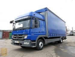 Mercedes Atego пользуется популярностью не только в Европе, но и в странах СНГ.