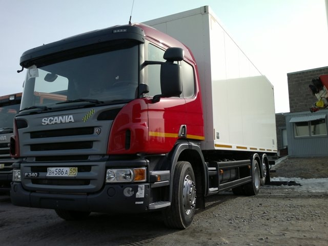 Грузоперевозки автомобилями Scania - transportica.com