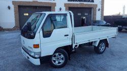Легкий бензиновый грузовик лучше для городских условий применения.