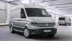 Высокие оценки Volkswagen Crafter принес не внешний вид, а надежность машины и большой моторный ресурс.