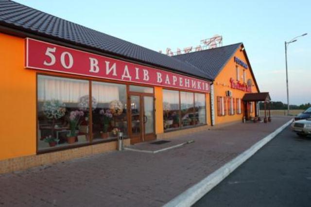Оригинальное кафе на киевской трассе.