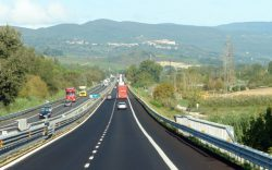 Итальянская автострада.