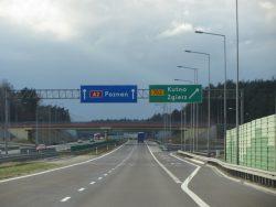 Автомагистраль А2 на Познань.