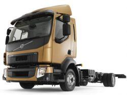 Шасси двухосного грузовика Volvo FL7.