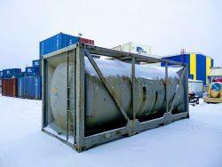 Так выглядит Tank container.