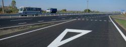 Новое дорожное полотно на дорогах Украины.