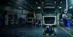 СТО для грузовых автомобилей.